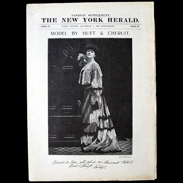 The New York Herald Fashion Supplement, December 7th 1902
