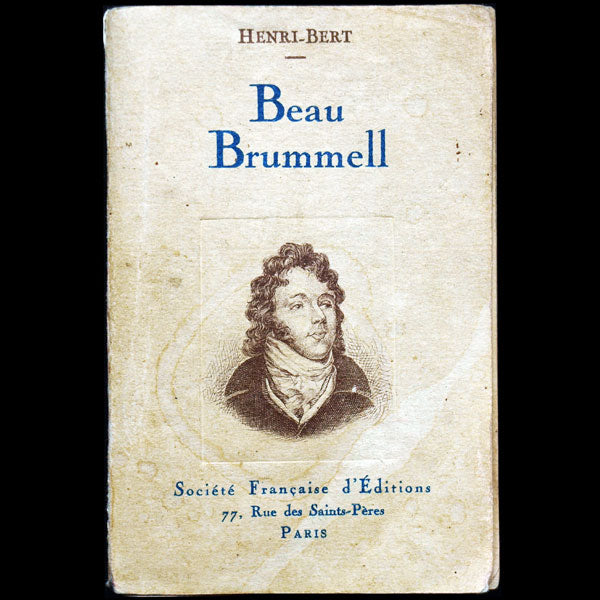 Beau Brummell, illustré par Paul Welsch (1930)