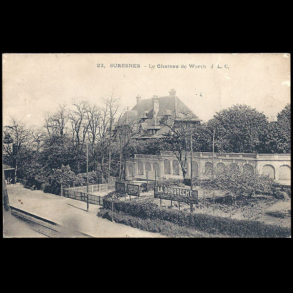 Le Chateau Worth à Suresnes (circa 1910)