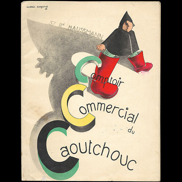 Comptoir Commercial du Caoutchouc - Catalogue illustré par André Dagand (1936)
