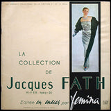 Fath - La collection de Jacques Fath - Hiver 1949-1950