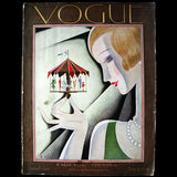 Vogue US (1er octobre 1926), couverture de Bolin