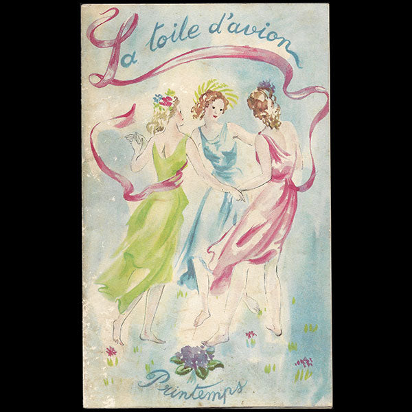 La Toile d'Avion - catalogue pour le Printemps (circa 1935)