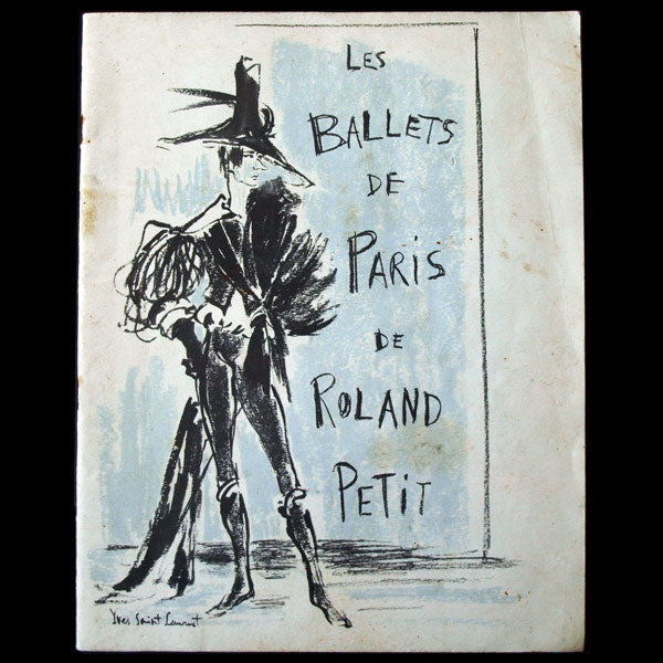 Ballets de Paris Roland Petit, costumes et couverture d'Yves Saint-Laurent (1959)