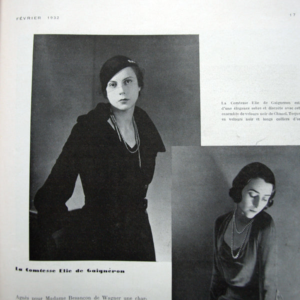 Vogue France (1er février 1932)