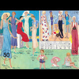 Au Printemps, 3ème collection de la saison Printemps-Eté 1933 par Paul Poiret