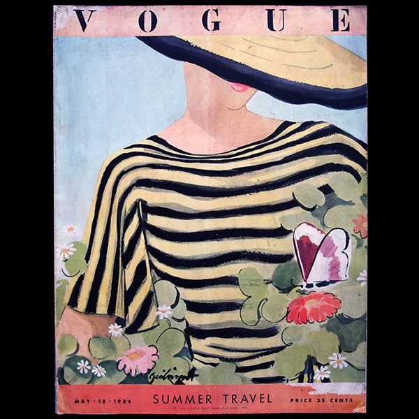 Vogue US (15 mai 1934), couverture de Zeilinger