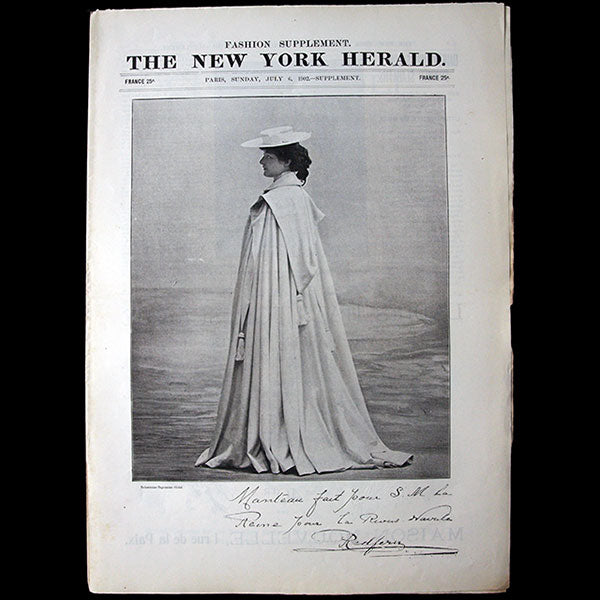 The New York Herald Fashion Supplement, July 6th 1902