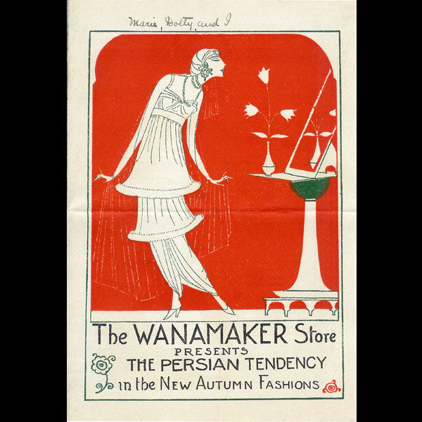 Wanamaker - In a Persian garden (1913)