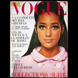 Vogue France (1er avril 1967), couverture de David Bailey