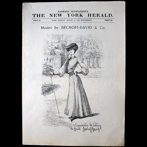 The New York Herald Fashion Supplement, March 29th, 1903