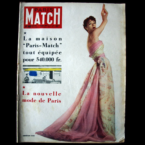 Paris Match - La nouvelle mode de Paris - Dior (1953)