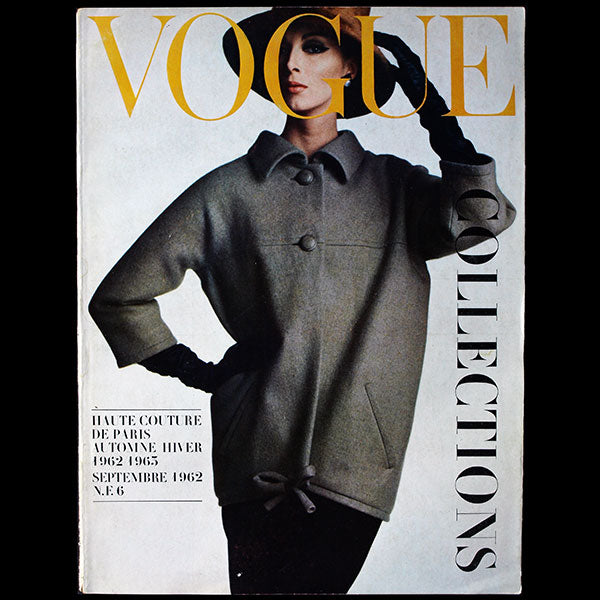 Vogue France (septembre 1962), couverture d'Irving Penn