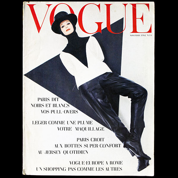 Vogue France (novembre 1962), couverture d'Helmut Newton