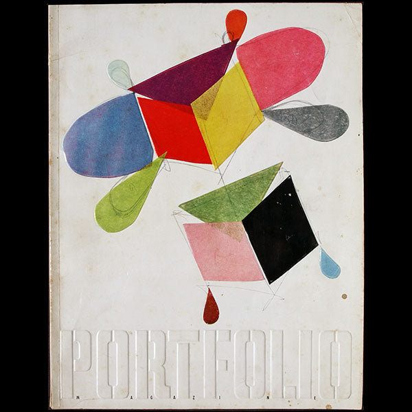 Brodovitch - Portfolio, a Magazine for the Graphic Arts, n°2 (Winter 1950)