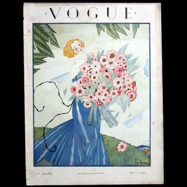 Vogue France (1er juin 1923), couverture de Georges Lepape