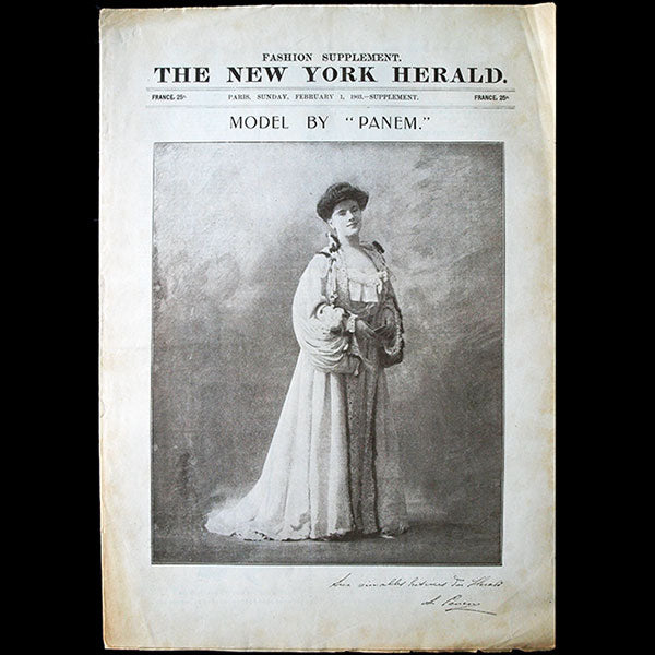 The New York Herald Fashion Supplement, February 1st, 1903