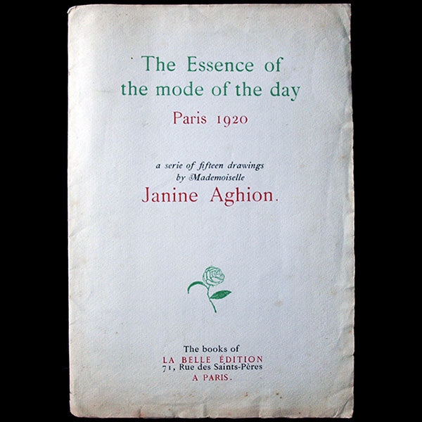 Janine Aghion - The essence of the mode of the day (1920)