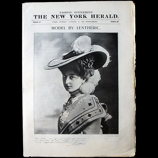 The New York Herald Fashion Supplement, October 26th 1902