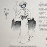 Poiret - L'Art et la Mode (10 Novembre 1900), illustrations de Paul Poiret
