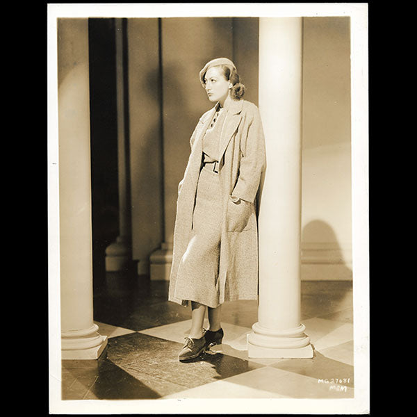 Joan Crawford, robe d'Adrian pour Today we live (1933)