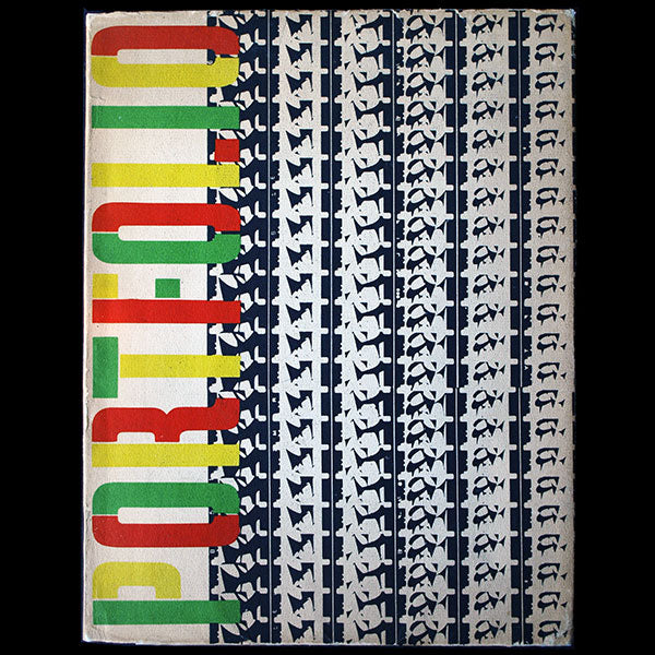 Brodovitch - Portfolio, a Magazine for the Graphic Arts, n°3 (Spring 1951)