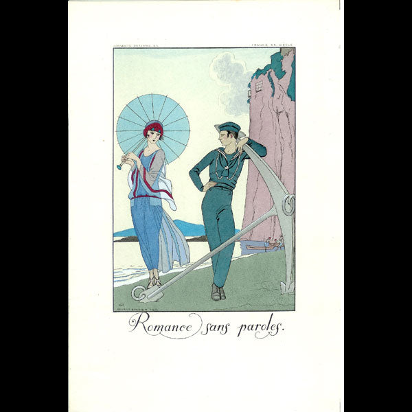 Falbalas et fanfreluches, 1923 : Romance sans paroles de George Barbier