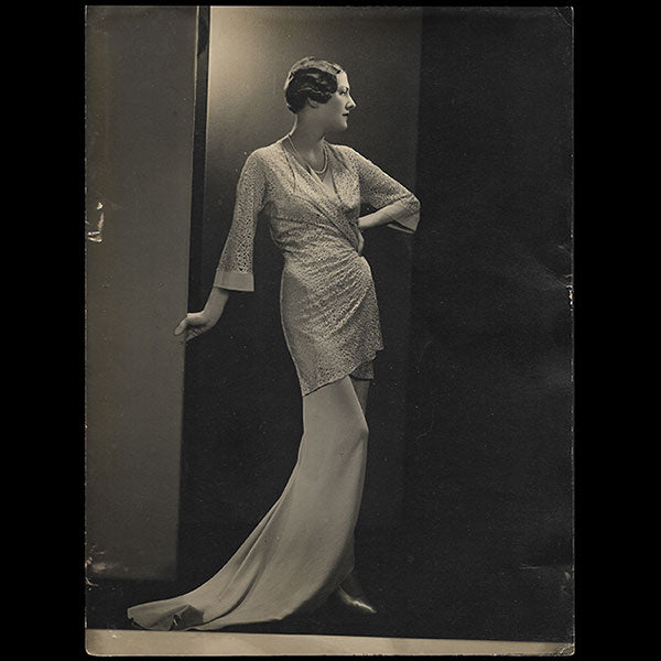 Molyneux - Tea gown (1933)