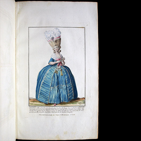 Gallerie des Modes et Costumes Français, collection de 15 planches (1778)
