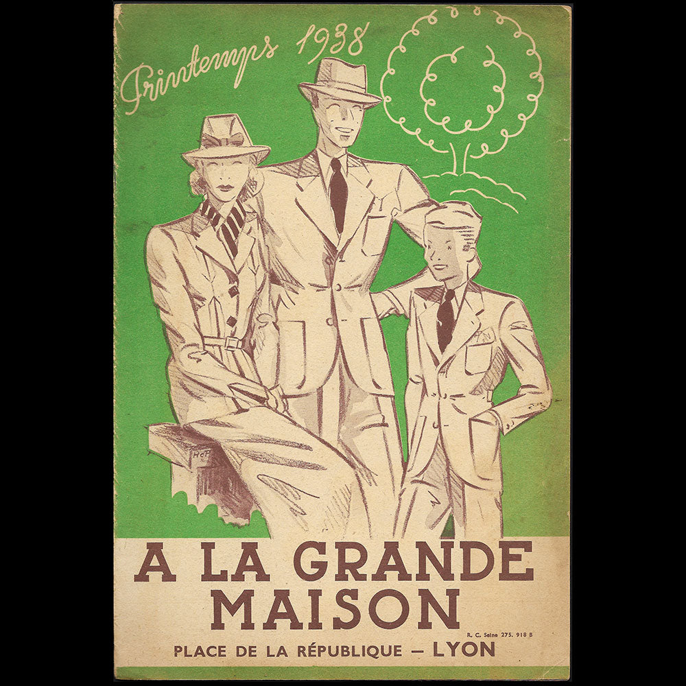 A la Grande Maison - Catalogue du Printemps 1938 du magasin de Lyon