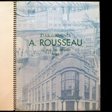 A. Rousseau - Catalogue du chemisier (circa 1930s)