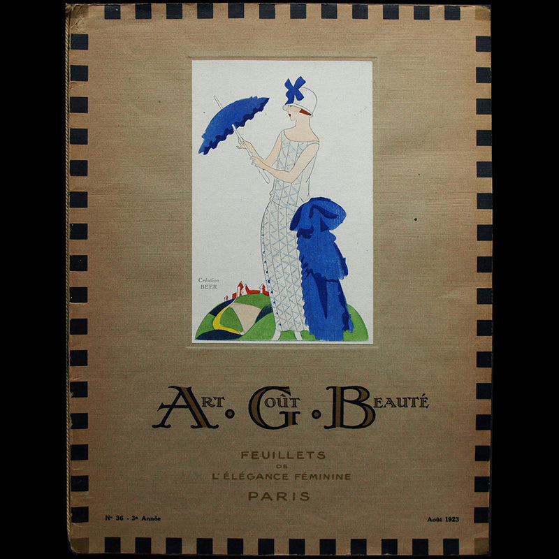 Art, Goût, Beauté (1926, avril), version anglaise