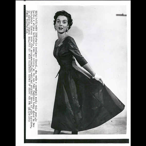 Chanel - Robe de cocktail d'Adele Simpson pour 1954
