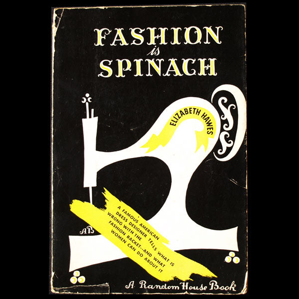 Fashion is Spinach, par Elizabeth Hawes, édition pré-originale, mise en page de Brodovitch (1938)
