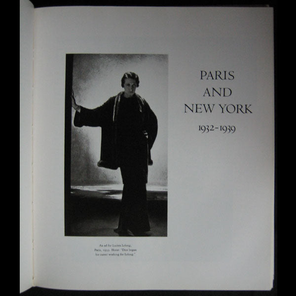 Horst - Horst, his work and his world, exemplaire signé par Horst (1984)