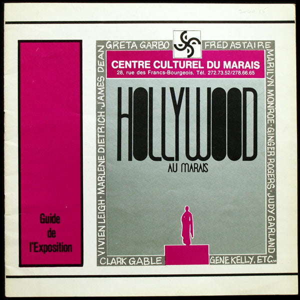 Hollywood au Marais - Exposition inspirée de Romantic and Glamorous Hollywood Design du Metropolitan Museum (1975)