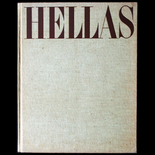 Hellas, a Tribute to Classical Greece, avec envoi de George Hoyningen Huené (1943)