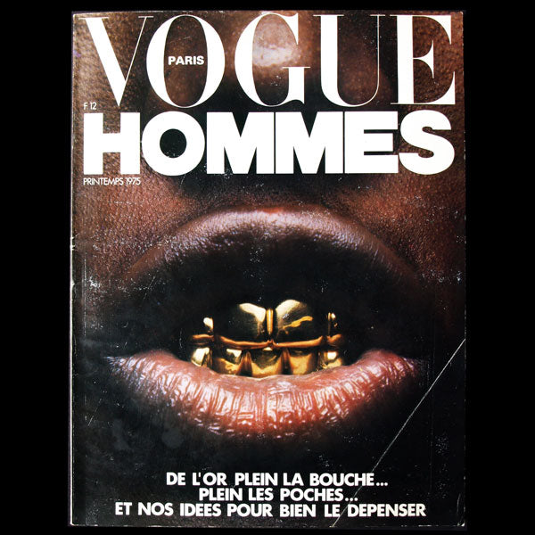 Vogue Hommes (Printemps 1975)