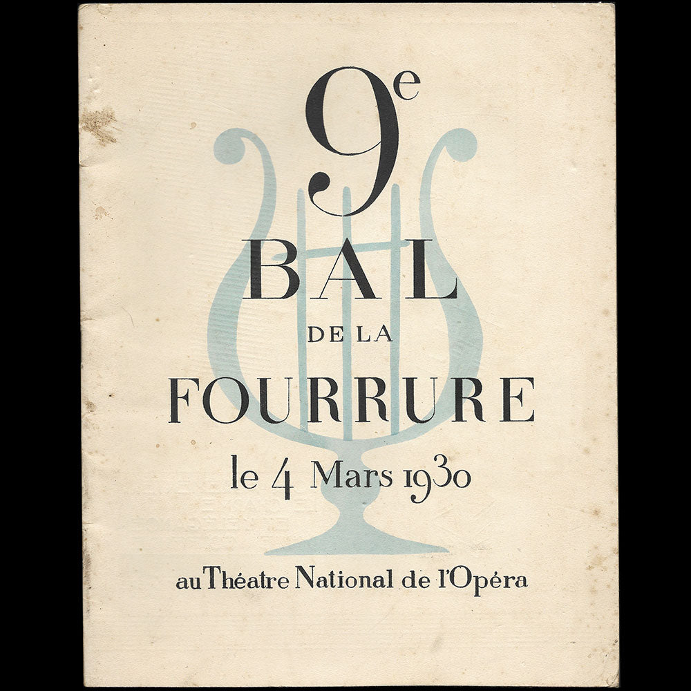 Le Bal de la Fourrure, illustrations de Ferrand (1930)