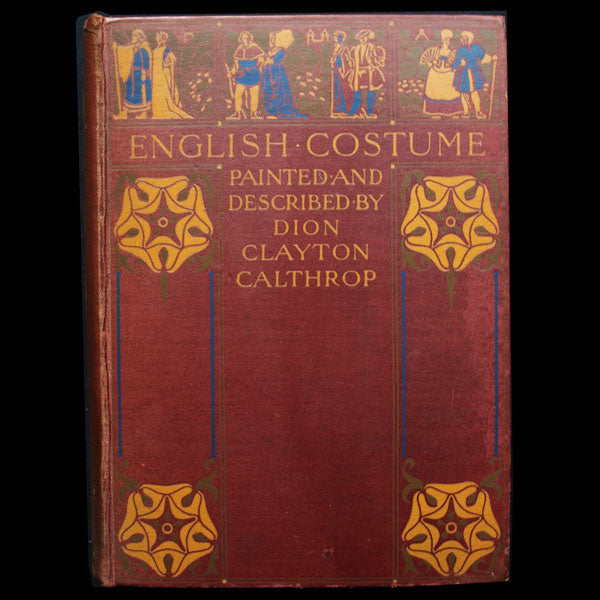 English Costume Painted and Described by Dion Clayton Calthrop, exemplaire d'Erté