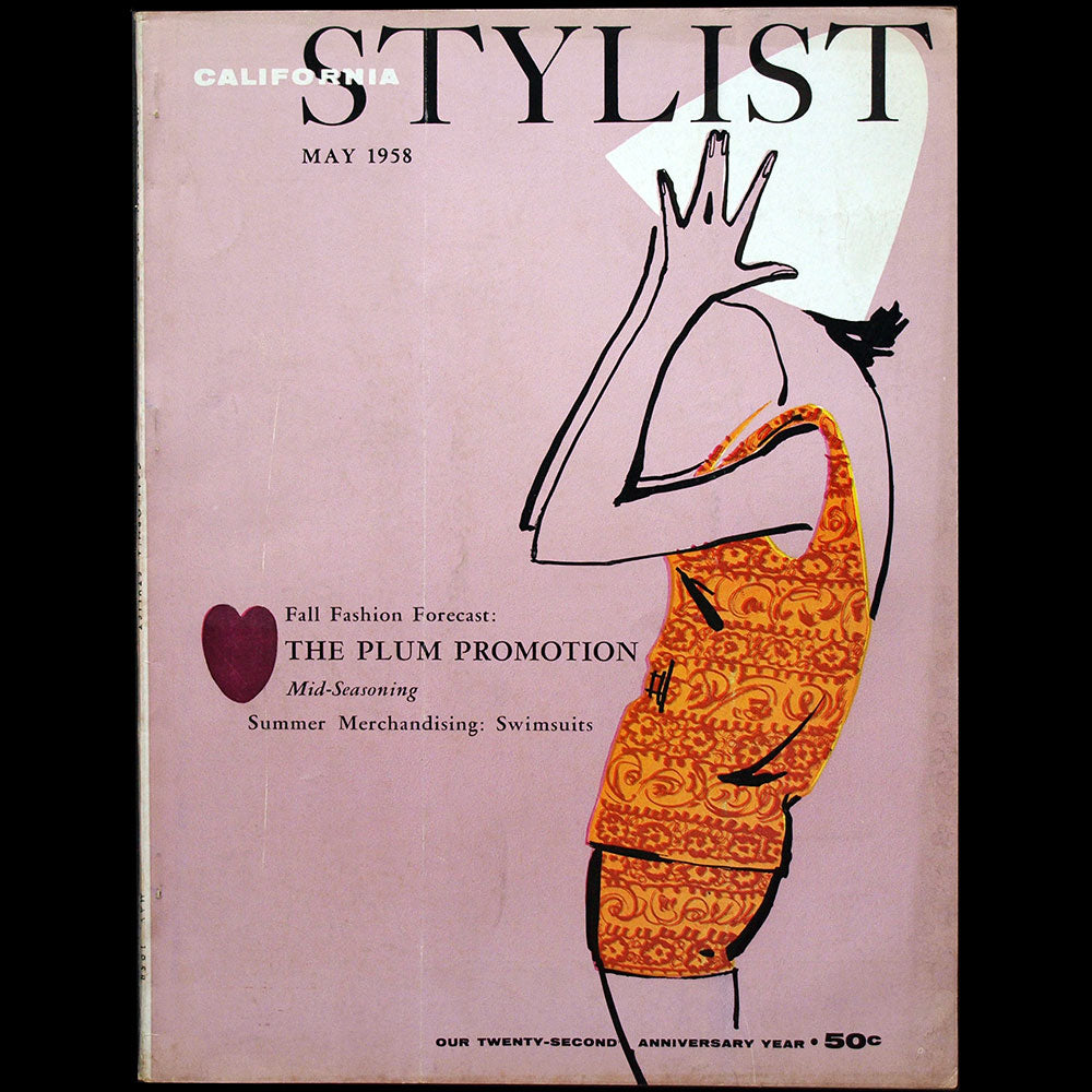 California Stylist, May 1958