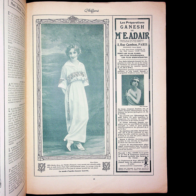 Chiffons, 20 avril 1914 - American Edition