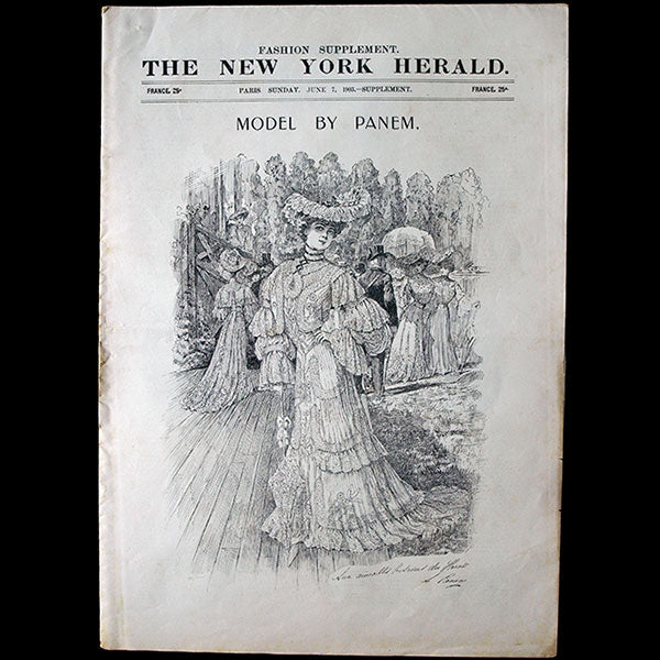 The New York Herald Fashion Supplement, June 7th, 1903