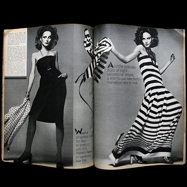 Vogue US (1st May 1973), couverture de Richard Avedon