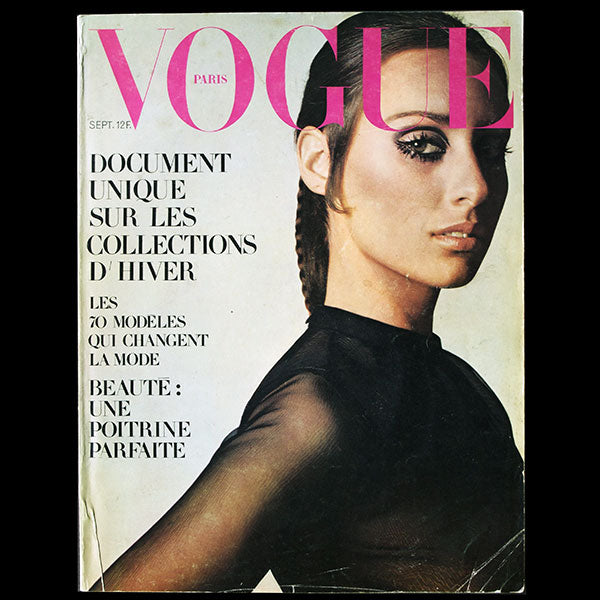 Vogue France (septembre 1968), couverture de Jean-Loup Sieff