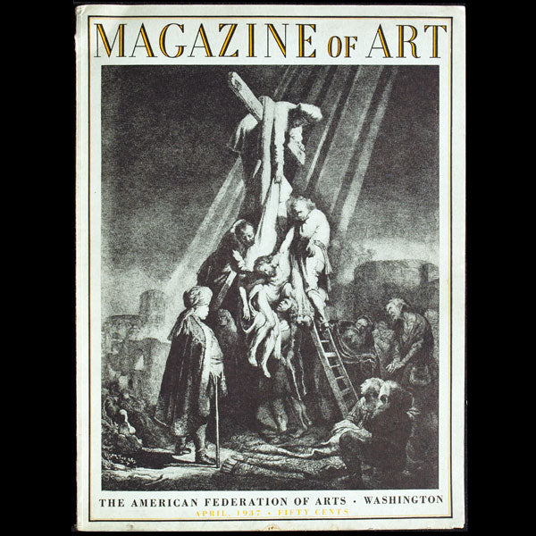 Magazine of Art - The new American Designer has not yet been born by Elizabeth Hawes (Avril 1937)