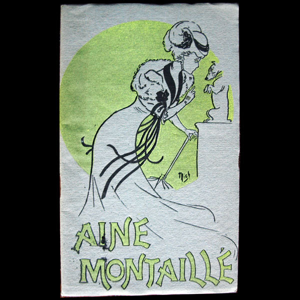 Aine Montaillé : Costumes Inédits 1906