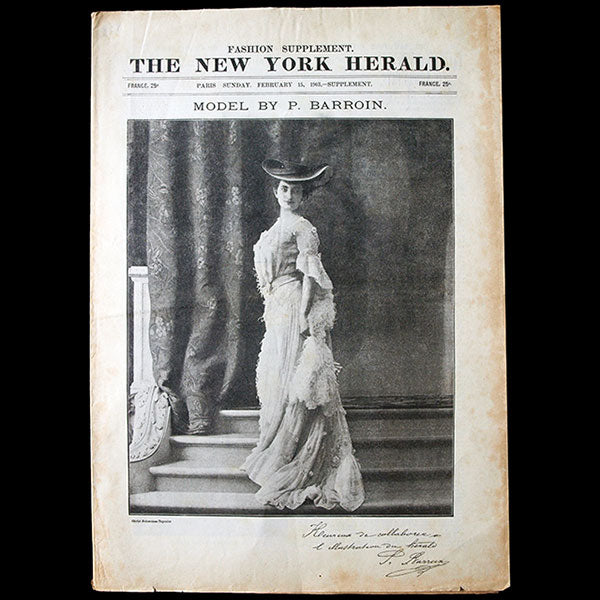 The New York Herald Fashion Supplement, February 15th, 1903
