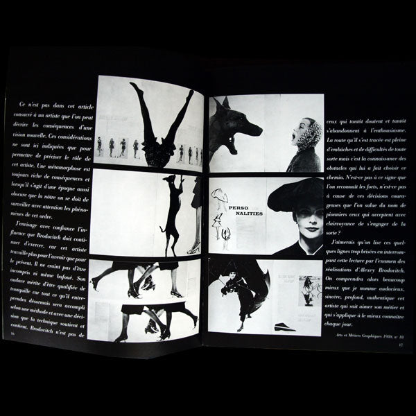 Brodovitch - Catalogue de l'exposition au Grand Palais (1982)