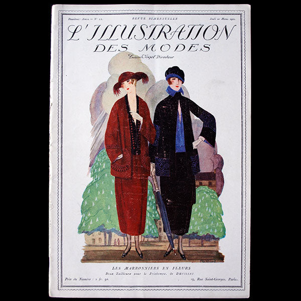 L'illustration des modes, 10 mars 1921